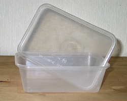 How can I reuse or recycle orphaned storage tub lids?