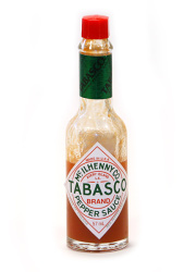 Tabasco sauce bottle