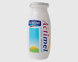 How can I reuse or recycle little yoghurt drink bottles like Actimel?
