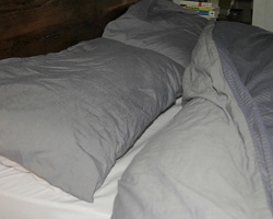 to dispose of old duvets and pillows