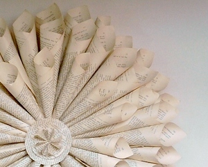 Turning Books Into Art Our Favourite Practical Pretty Upcycling